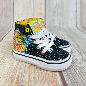Vans Yo Gabba Gabba Sneakers Toddler Size 4.5